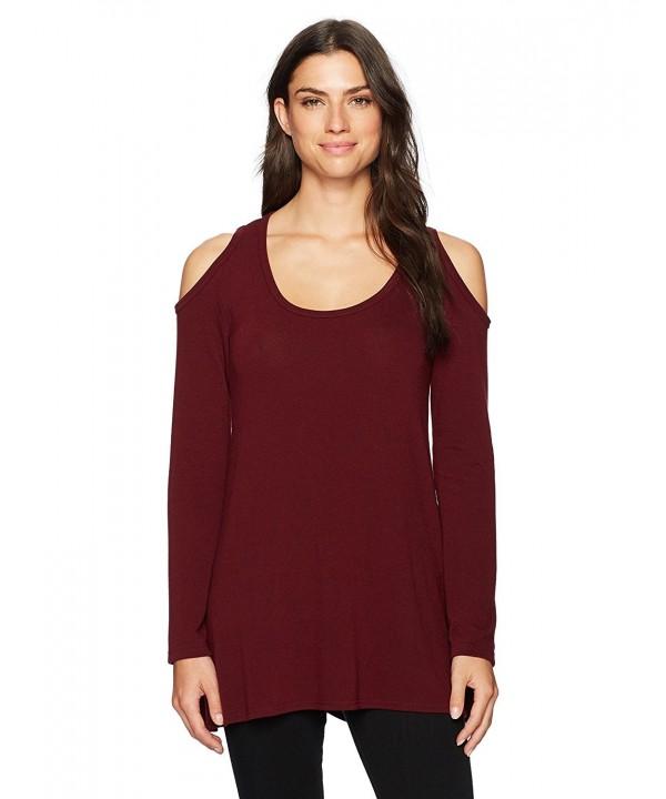 Karen Kane Womens Shoulder Sweater