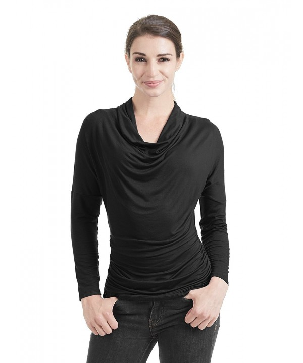 WT1381 Womens Sleeve Drape Shrring