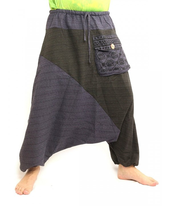 Baggy Harem Pants Hippie Cotton