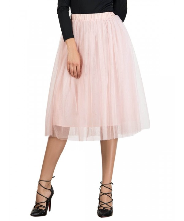 Joeoy Elastic Layered Princess Skirt S