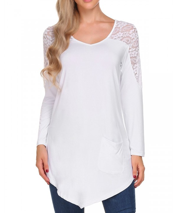 Womens Sleeve Pleated Casual Shirts