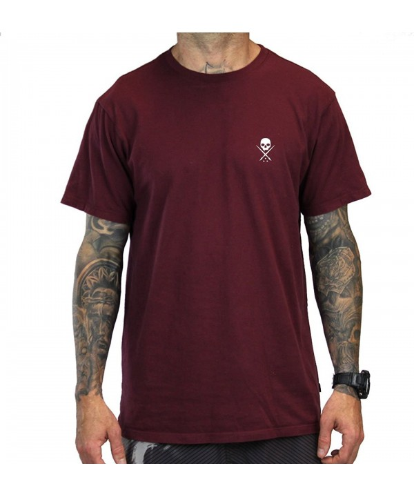 Sullen Clothing Standard Sleeve Burgundy