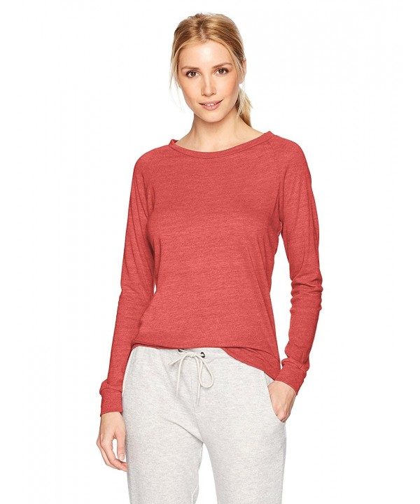 Alternative Womens Slouchy Pullover Burnt