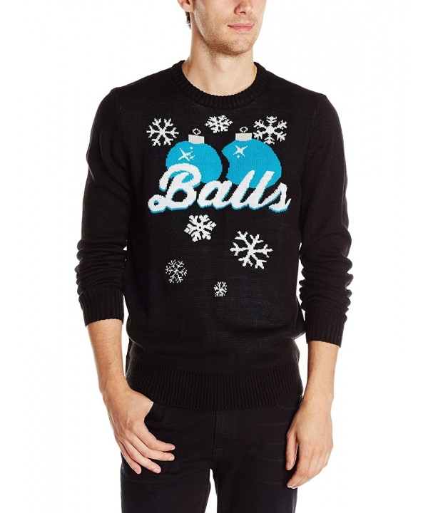 Hybrid Balls Sweater Black Small