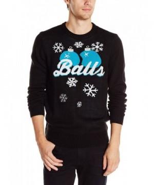 Hybrid Balls Sweater Black Small