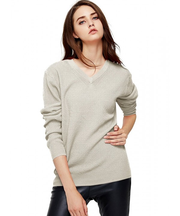 Escalier Womens Classic Pullover Sweater