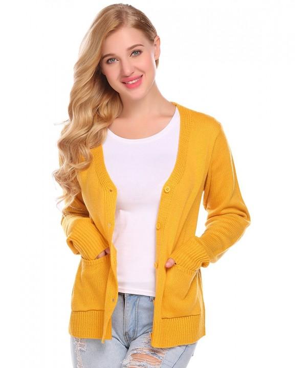 ODlover Womens Stylish Cardigan Sweater