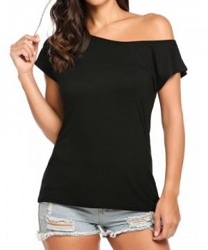 Halife Womens Shoulder Sleeve Tshirts