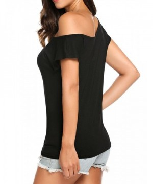 142dfddf6ced5 Available. Halife Womens Shoulder Sleeve Tshirts  Discount Women s Tees for  Sale  Brand ...