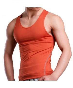 Xdian Mens Stretchy X Large Orange
