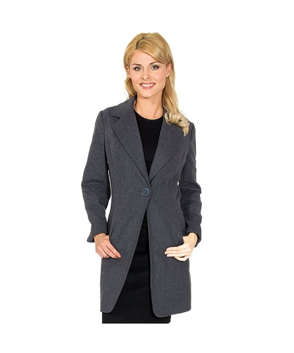 Alpine Swiss Stella Womens Overcoat