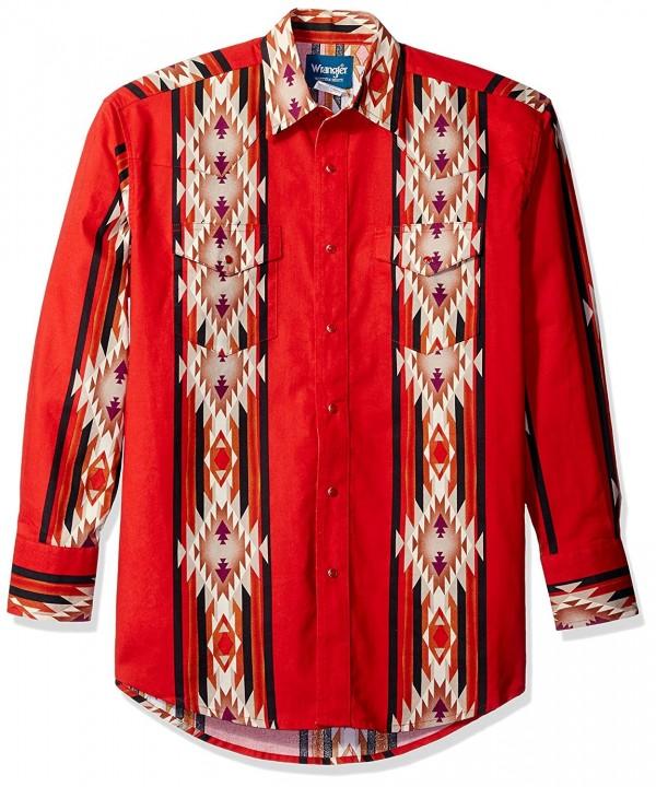 Wrangler Checotah Dress Western Sleeve