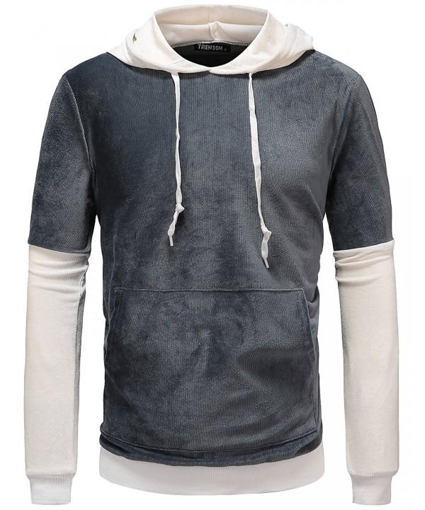 Lightweight Pullover Corduroy Sweatshirt XX Large