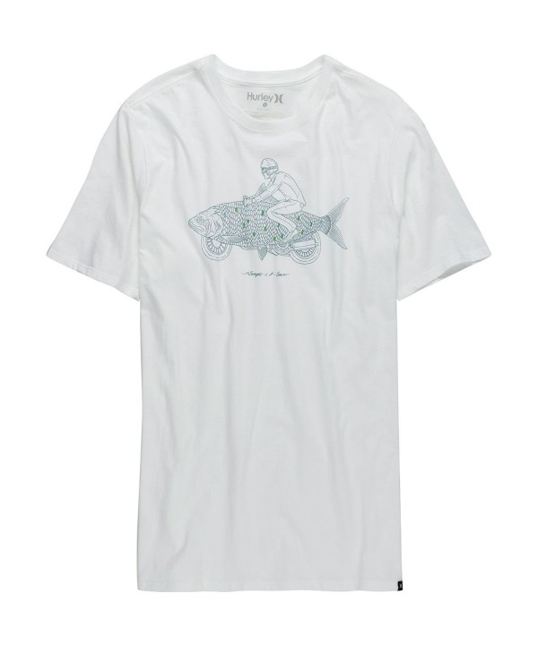 Hurley MTS0025410 Mens Shirt White