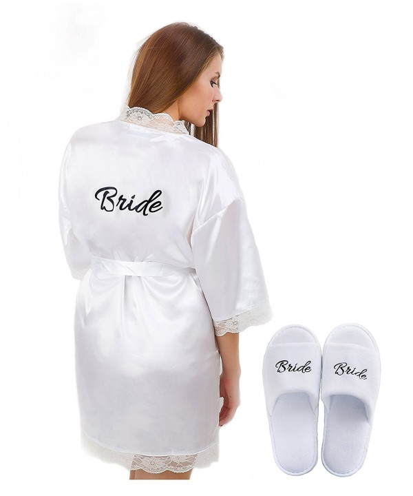LR Bridal Womens White Bride