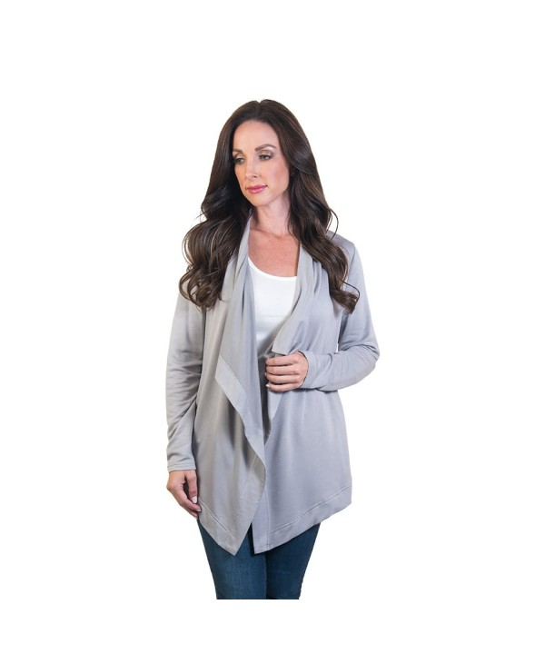 Agiato Womens AG CLSF W Gy 000S Cardigan