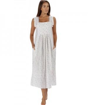 Cotton Nightgown Pockets XS 3X Rebecca