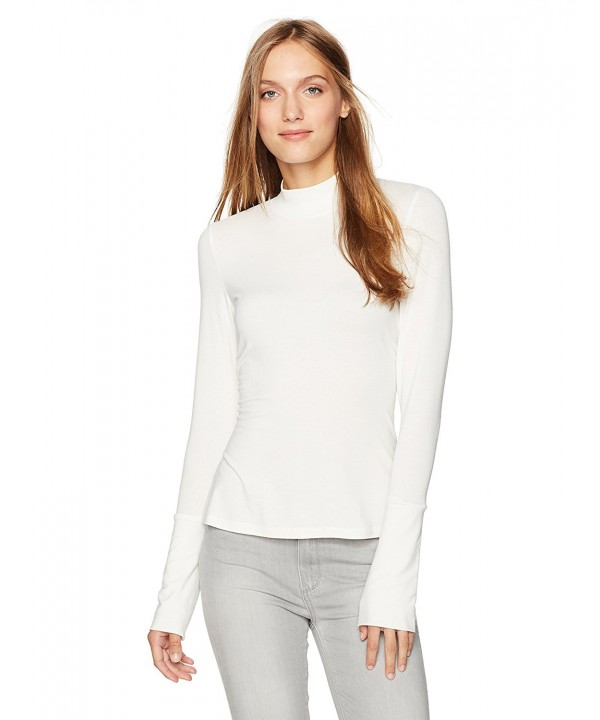 Essentialist Womens Long Sleeve Stretch Turtleneck