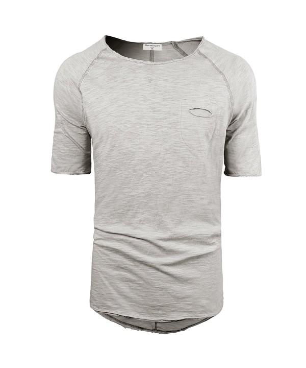 Derminpro Mens Hipster Longline T Shirt