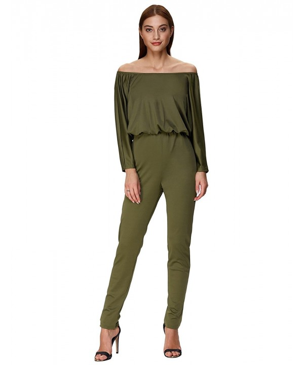 GRACE KARIN Womens Shoulder Jumpsuits