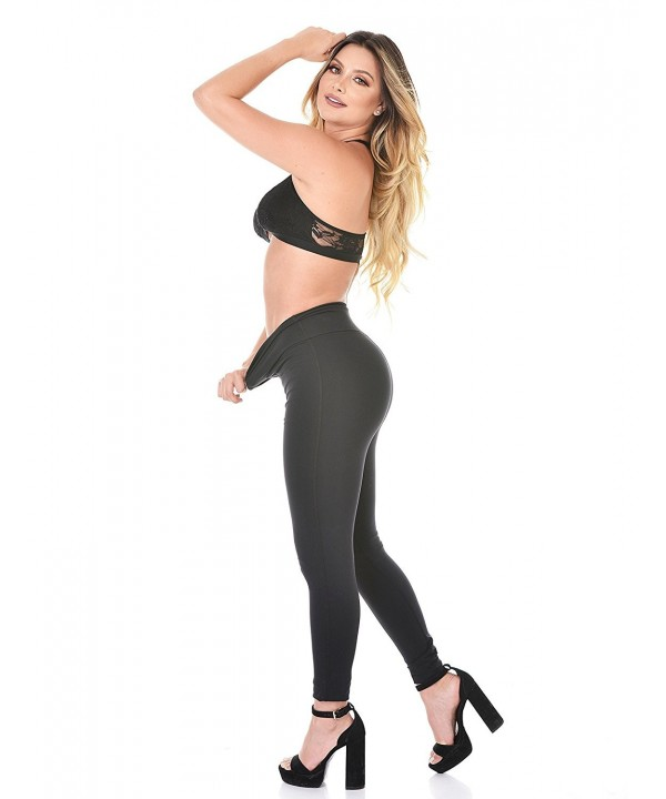 Curvify Elegant Waisted Leggings Slimming
