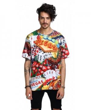 Pizoff Gambling Oversize T Shirt Y1791 01 L