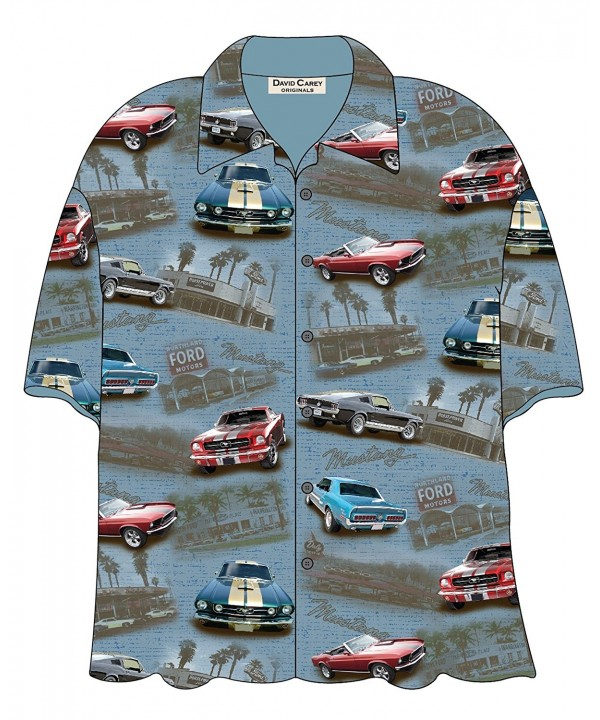 David Carey Mustang Button Shirt