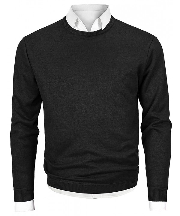 Mocotono Sleeve Pullover Sweater Black