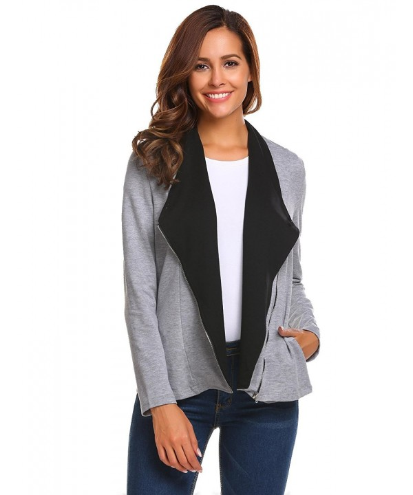 SummerRio Womens Casual Cardigan Outwear