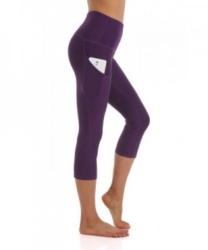 ZEROGSC Womens Yoga Pants YPW112 DeepPurple Large