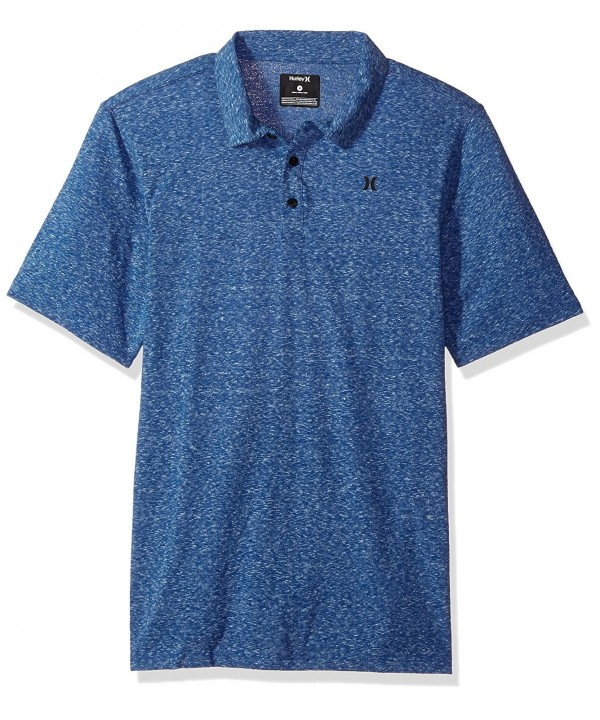 Hurley Textured Three Button Sleeve