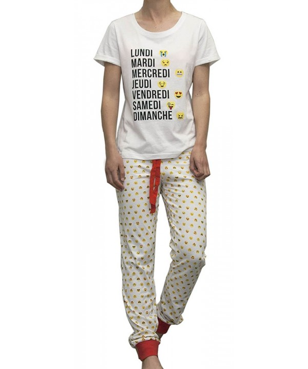 Sweet Dreams Emoji Pajama X Large