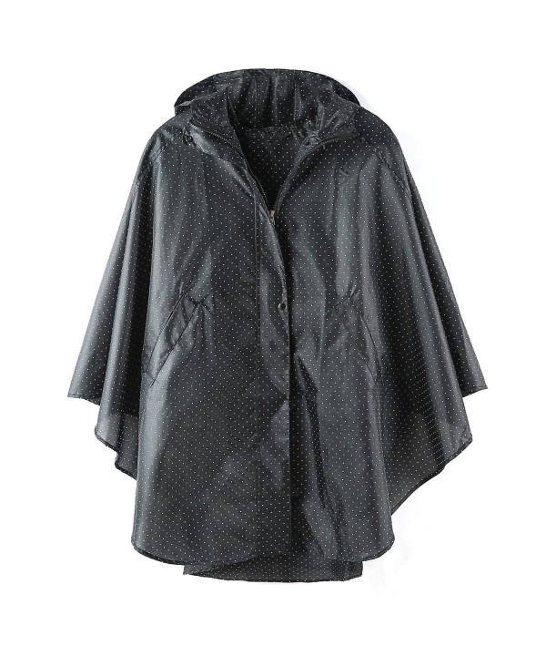 poncho fashion raincoat packable outerwear