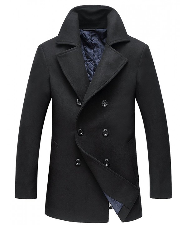 Mens Winter Coats Fashion Black