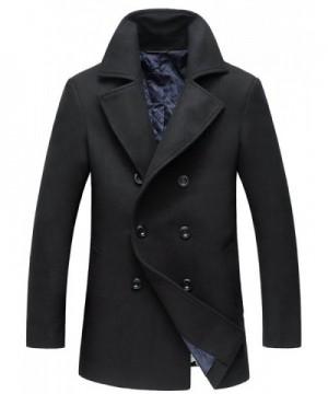Mens Winter Coats Fashion Black