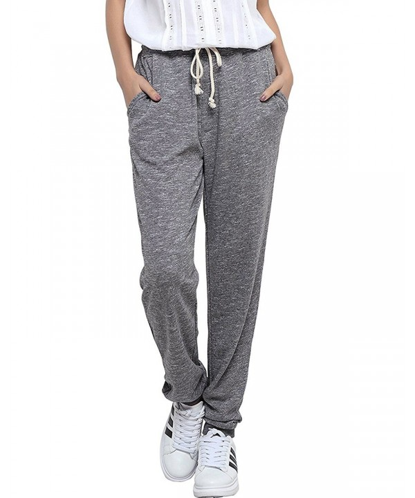 SUNNYME Sweatpants Workout Athletic Joggers