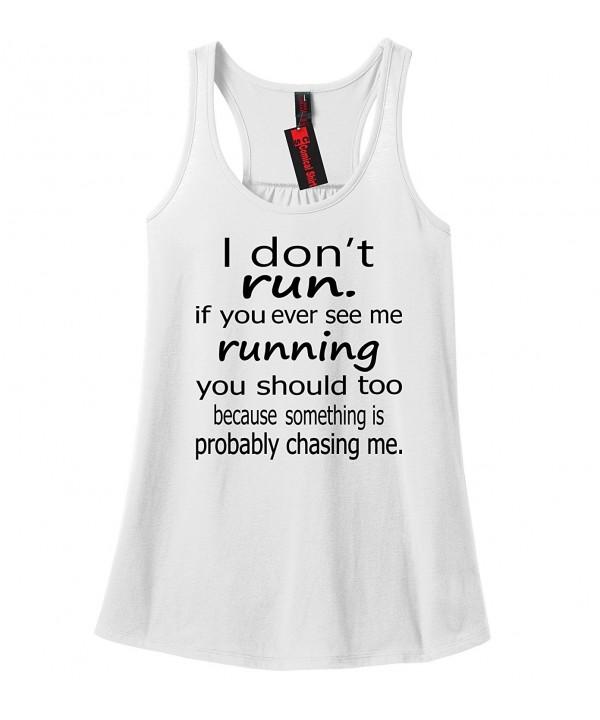 Comical Shirt Ladies Running Should