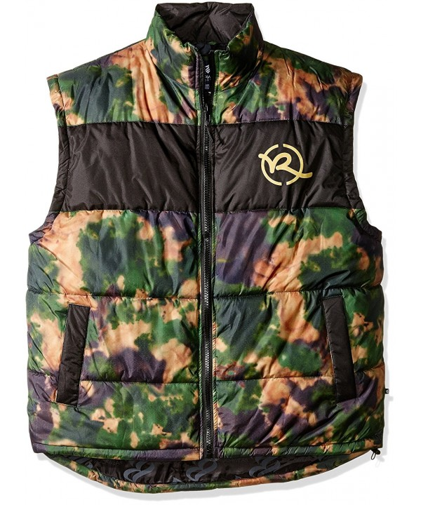 Rocawear Mens Tall Battleground Vest