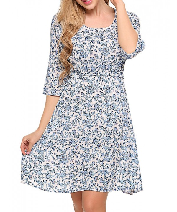 COSBEAUTY Womens Sleeve Summer Dresses