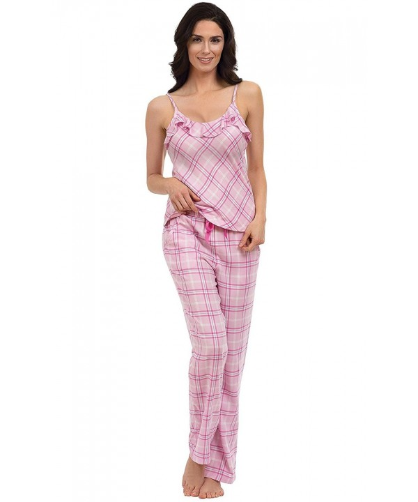 PajamaGram Womens Lightweight Flannel Pajamas