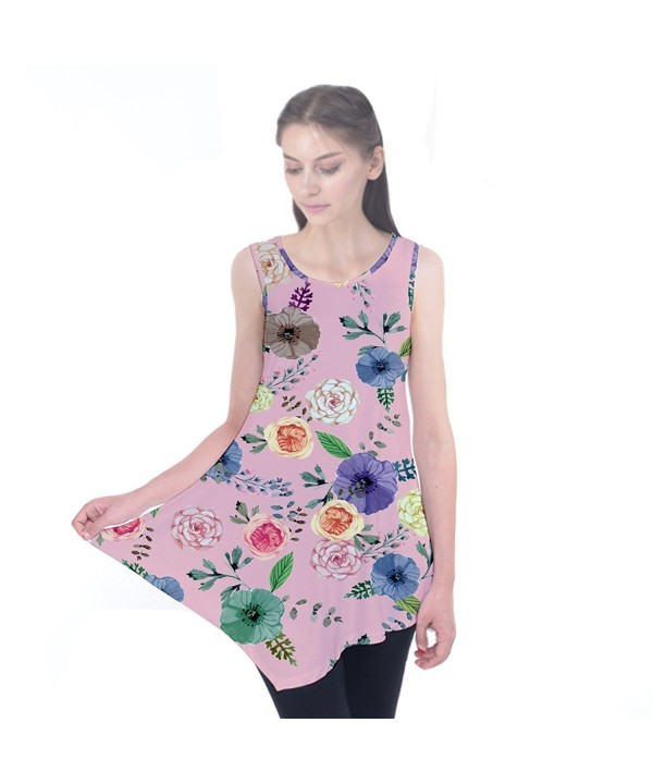 CowCow Colorful2 Sleeveless Tunic Top