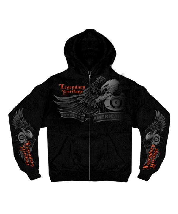 Hot Leathers Ghost Hoodie XX Large