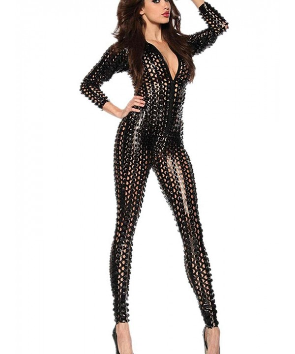 Wonder Pretty Jumpsuit Metallic Bodysuit