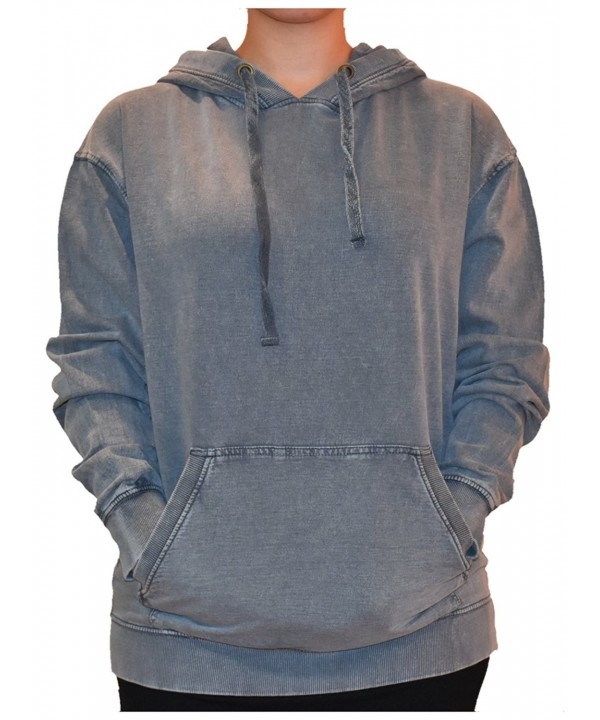 U S Apparel Womans Pullover Gunmetal