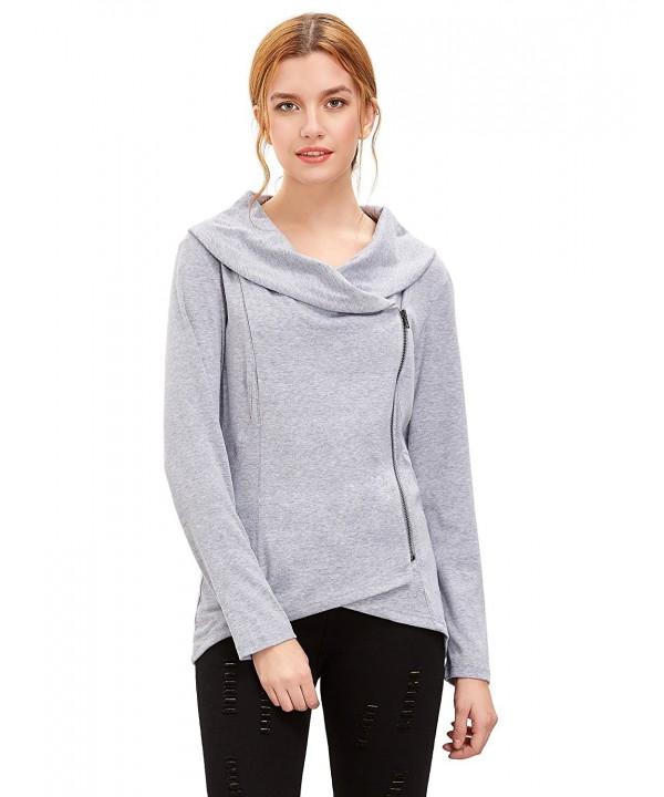 Verdusa Womens Casual Pullover Sweatshirt