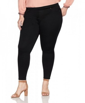 Denim Crush Womens Black Jegging