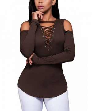 Shoulder Casual Sleeve Stretchy Blouse