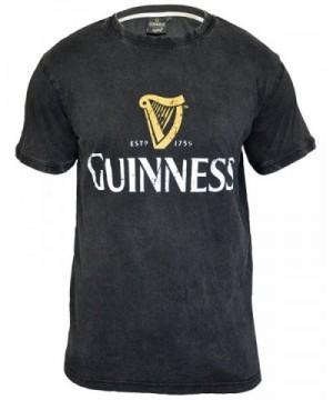 Guinness Distressed Trademark T Shirt Medium