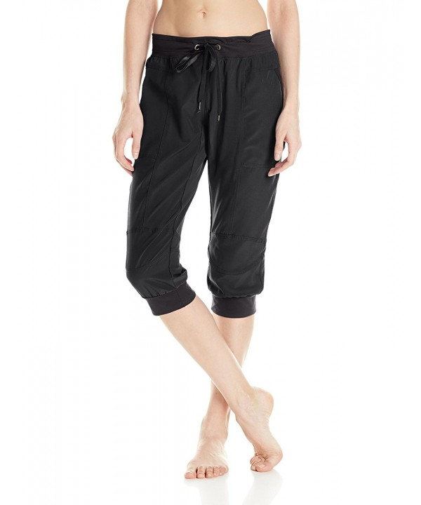 Soybu Womens Julie Capri Black