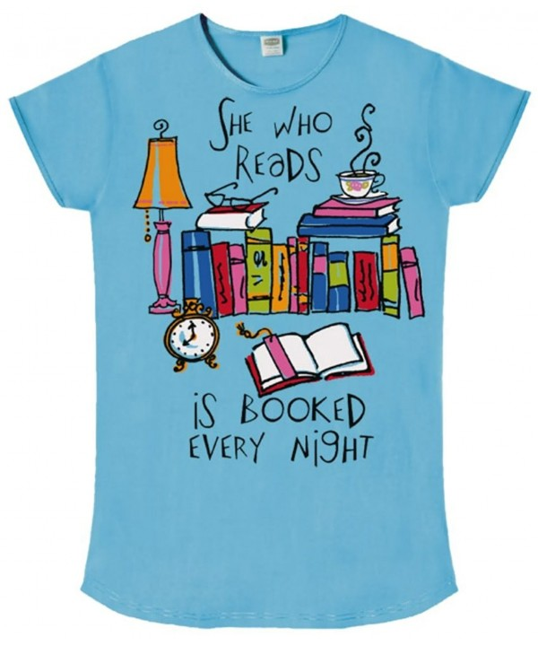 Nightshirt Reads Booked Every Night